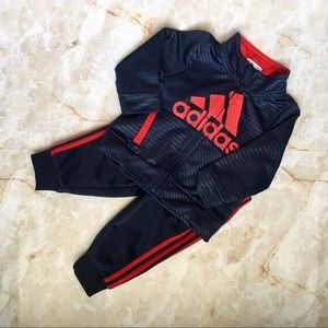 adidas Blue/Red Tracksuit Baby 6mo